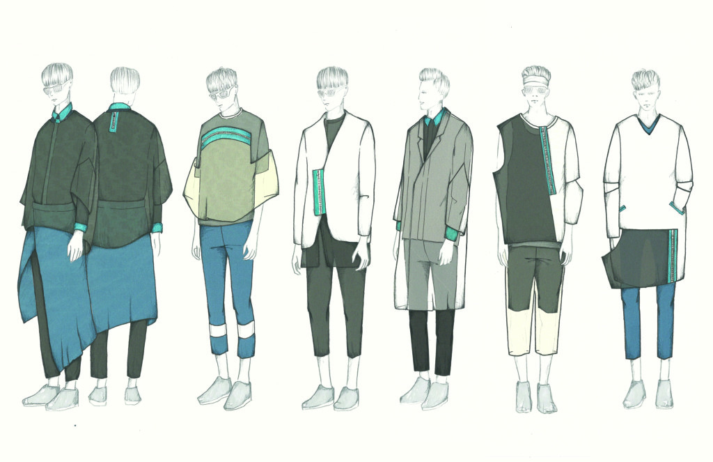 Xun Li's illustrated lineup.