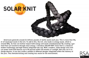 "Munoz's ""Solar Knit"" Image: courtesy of Jc Munoz"