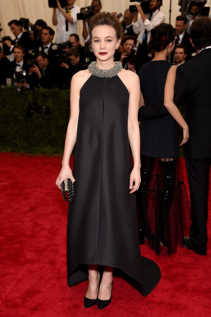 Carey Mulligan in Balenciaga. Image: vogue.com