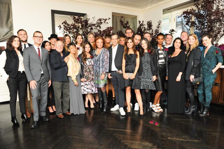 Steven Kolb CFDA CEO with new members. Image: edanafashion.wordpress.com