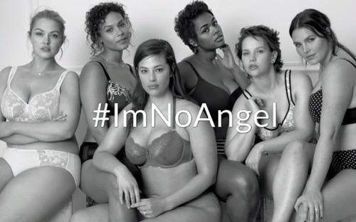 Lane Bryant s  ImNoAngel Campaign went viral and got attention to the plus  sized lingerie brand ec9ff462a