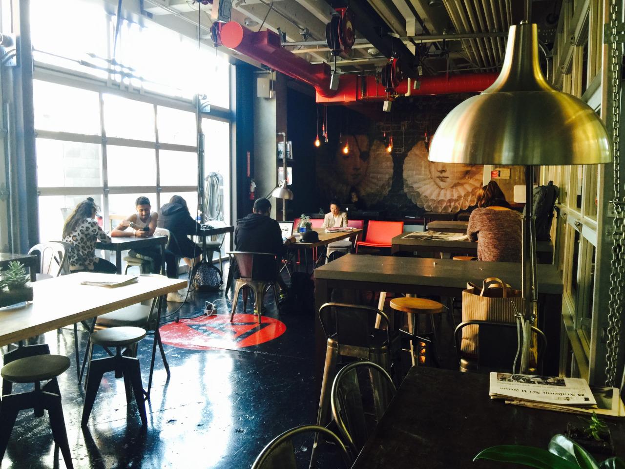 Meet Agustin Sanders Interior designer of the 601 Brannan Cafe