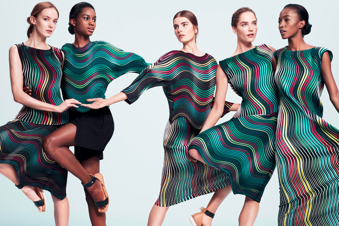 Issey Miyake Continues To Play With Sculptural Design Fashion School Daily