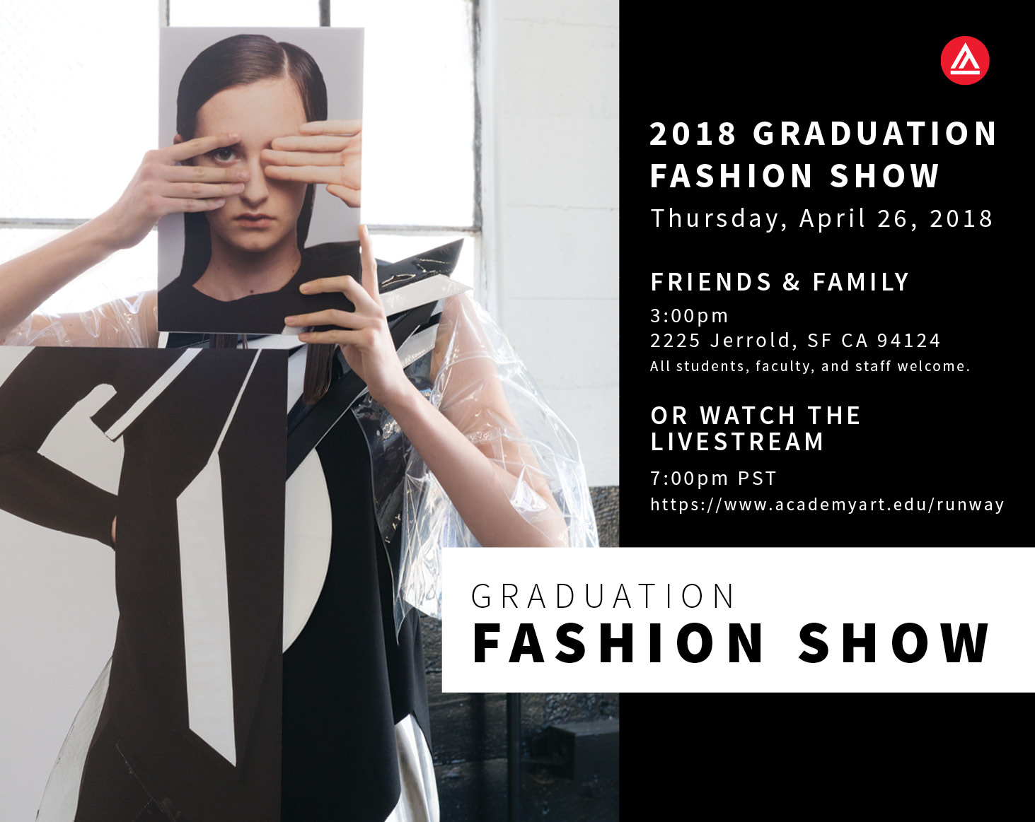 2018 Graduation Fashion Show: Livestream
