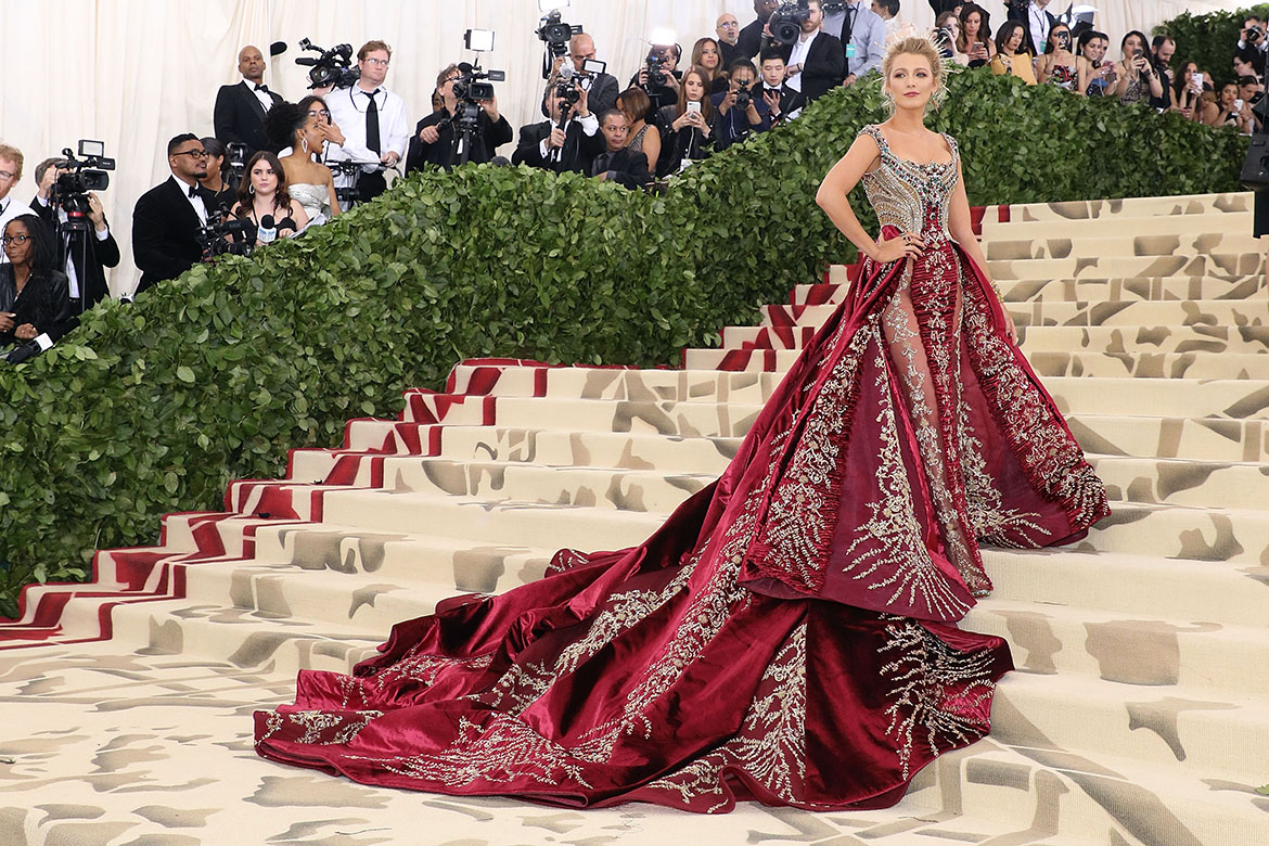 Ten Heavenly Looks From The 2018 Met Gala
