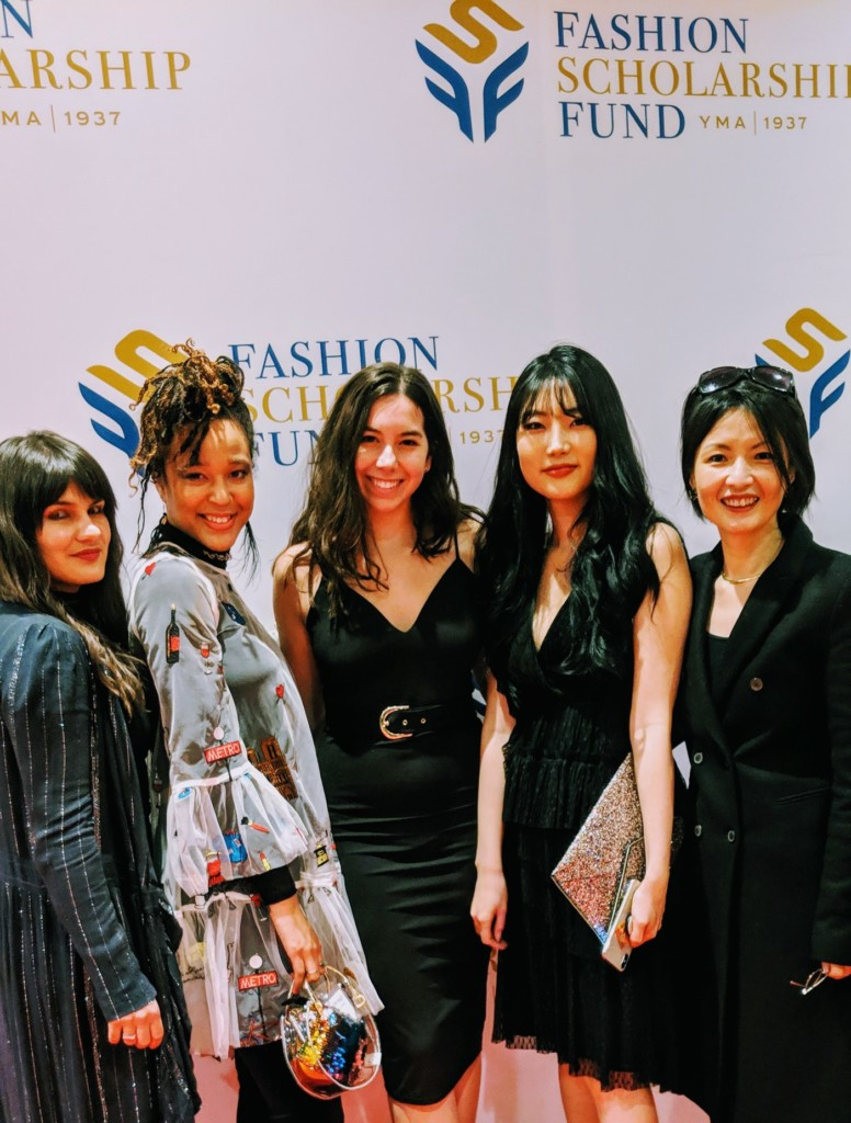 Four School of Fashion Students Awarded Scholarships From