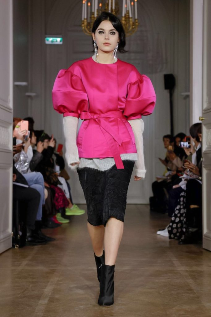 lutz hull pink bubble coat