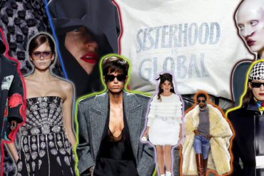 paris fashion week collage