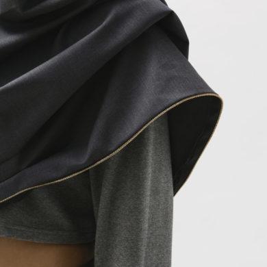 Design by Hanbit Ku, MFA Fashion Design. Photography by Danielle Rueda.