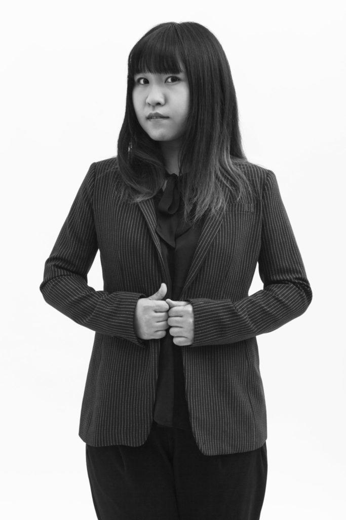 Qing Guo, MFA Fashion Design. Photography by Danielle Rueda
