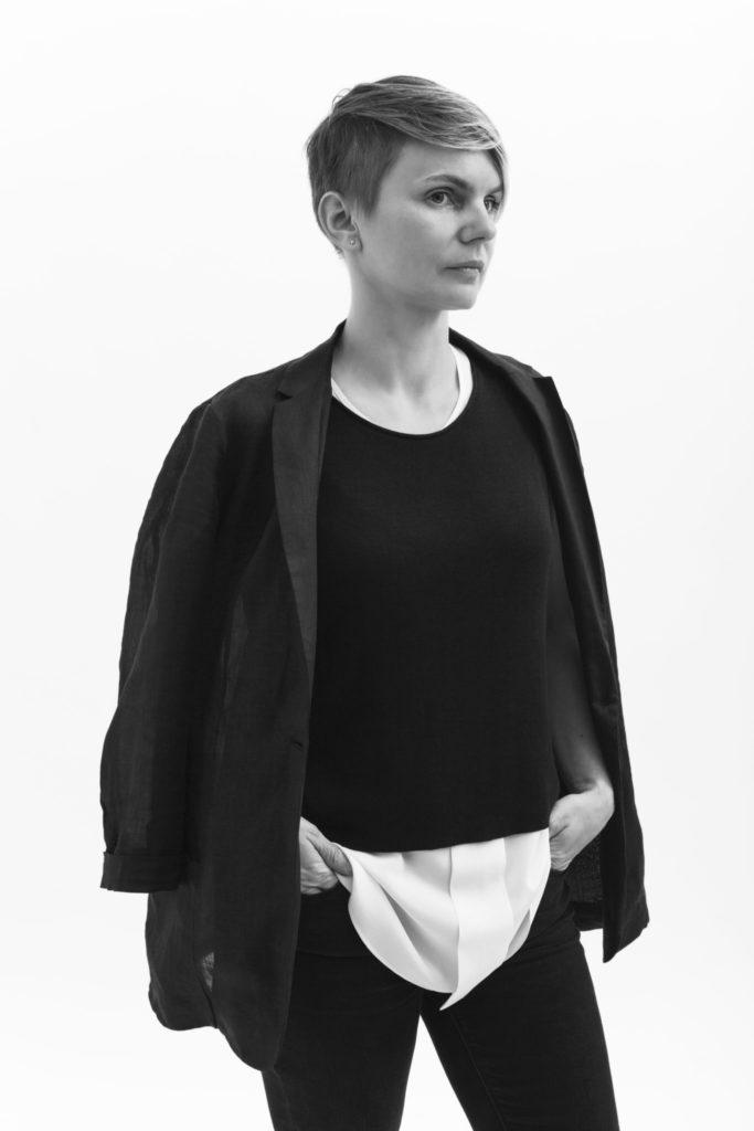 Yaryna Zhuk, MFA Fashion Design. Phography by Danielle Rueda