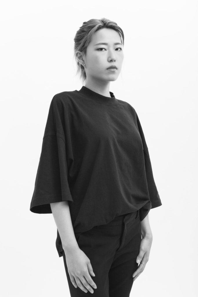 Ying Jin, MFA Fashion Design. Photography by Danielle Rueda