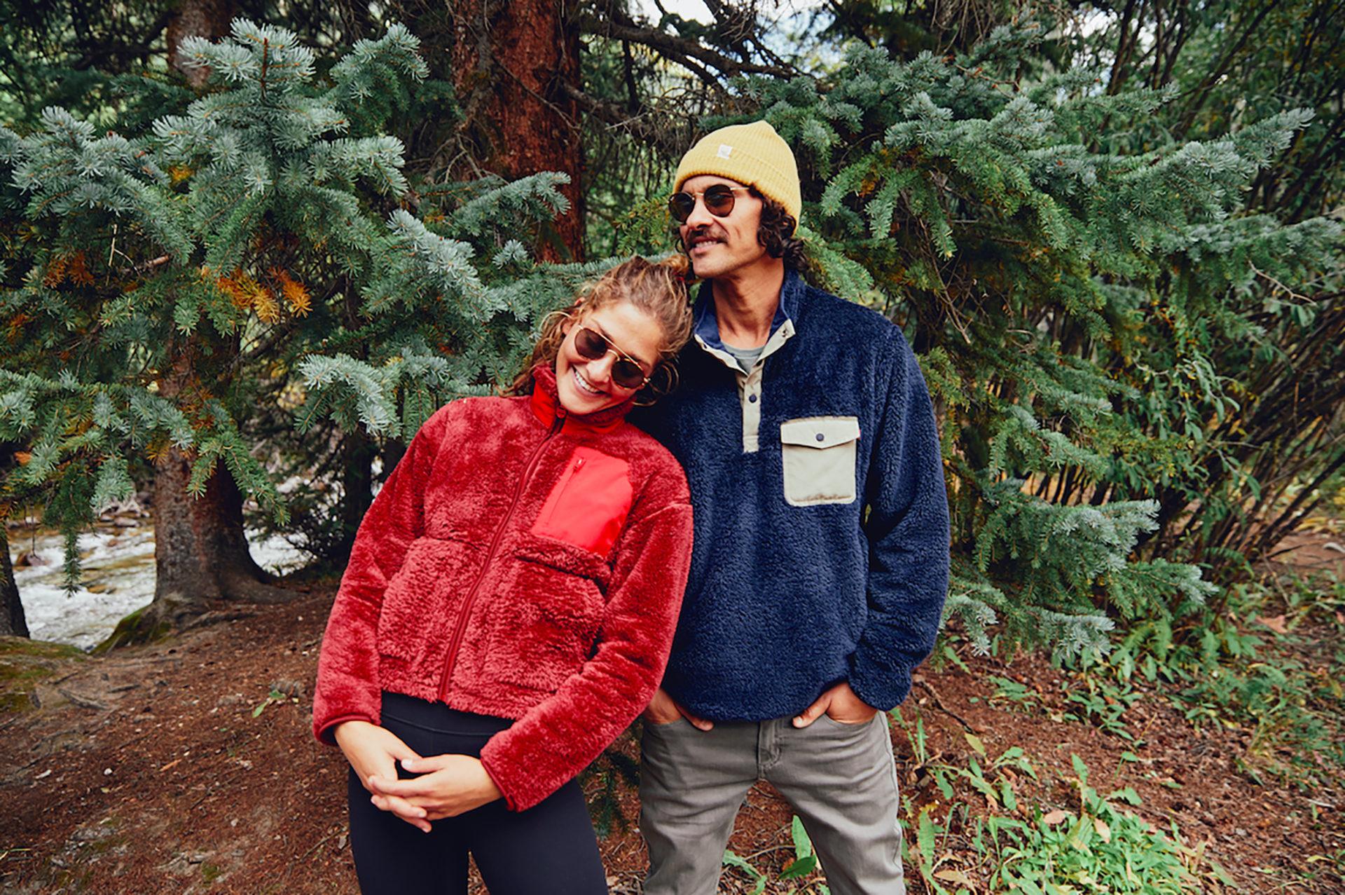 Marine Layer Men's and Women's Sherpa Jacket